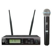 Musicson Bk401 Microfono Inalambrico Uhf 96 Frecuencias Ir