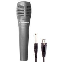 Microfono Profesional Bidireccional Negro Canon