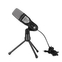 Microfono De Estudio Semiprofesional Con Mini Tripie Sf-666
