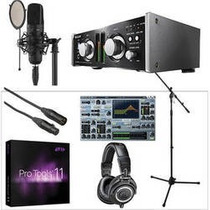 Bundle Senal Studio Recording/post Production Avid Pro Tools