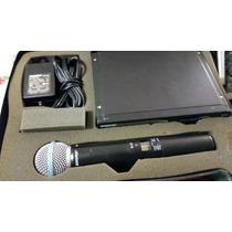 Microfono Inalambrico Shure Slx4 Con Slx2 Beta 58a Y Estuche