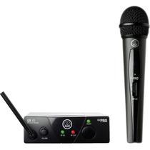 Akg Wms40 Mini Single Vocal Set Paq De Microfono Inalambrico