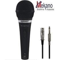 Microfono Hi-fi Metalico Profesional Unidireccional Nuevo
