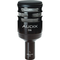 Audix D6 Microfono Cardioide Dinamico