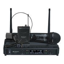 Radson Mr 271 Paq. De Microfonos Inalambricos Mano Y Diadema