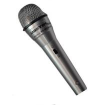Microfono Alambrico Profesional Cable 4m Metalico C Estuche