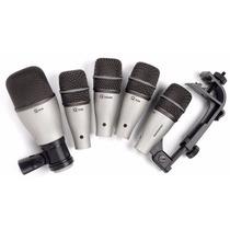 Kit De 5 Micrófonos Para Batería + 5 Cables Xlr $5,499.00