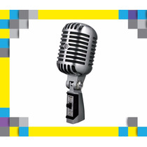 Micrófono Shure 55sh Unidyne Ii - Clásico Vocal Legend Elivs
