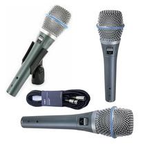 Shure Beta 87a Condensador Supercardioide Microfono Vocal