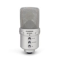 Micrófono Samson G Track Usb Condensador Color Gris