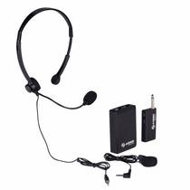 Micrófono Inalámbrico Steren De Solapa Y Diadema Mic-290