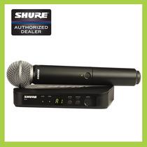 Micrófono Dinámico, Cardioide, Inalámbrico Shure Blx24/sm58