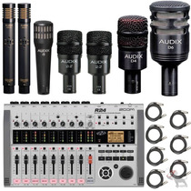 Audix Dp7 Microfonos + Zoom R24 Grabadora Multitrack
