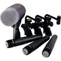 Shure Dmk57-52 Kit Microfonos Para Bateria Y Percusion