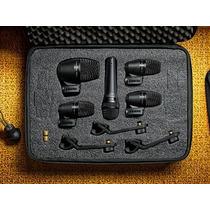 Kit De Microfonos Para Bateria - Shure Pgadrumkit5