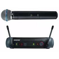 Micrófono Inalámbrico Shure Pgx24/beta58 Envío Gratis