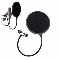 Microfono Filtro Antipop Flexible Elimina Ruido