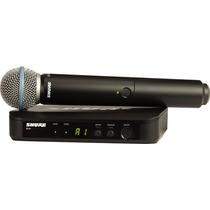 Microfono Inalambrico Shure Blx24/b58 - Nuevo