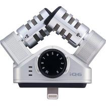 Micrófono Profesional Estéreo Iphone Ipad Iq6 Zoom