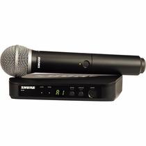 Shure Blx24 Sistema Inalambrico Con Microfono Sm58