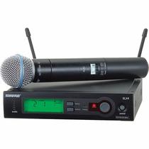 Shure Slx24/beta58 Sistema De Microfono Inalambrico