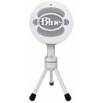 Microfono Blue Snowball Ice Usb Pc Audio Profesional Estudio