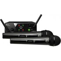Akg Wms 40 Pro Dual Micrófonos Inalámbricos Uhf Profesional