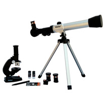 Microscopio - Brujula Acercamiento 20x, 30x, 40x Vivitar