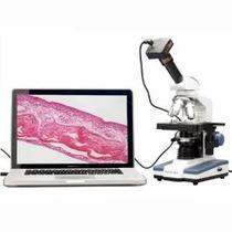 Compuesto Amscope M620b-5m Digital Microscopio Monocular Wf1