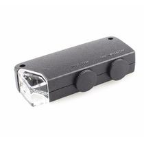 Lupa Microscopio Zoom 160x A 200x Con Lampara Luz Led