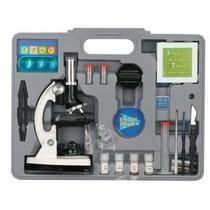 Kit De Microscopio Con Luz Led Y Accesorios 49 Piezas Nuevo