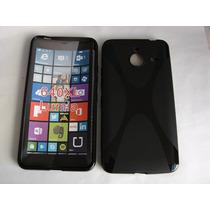 Protector De Gel Tpu Semirrigido Para Lumia 640 Xl De 5.7 P.