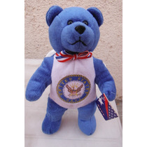 Peluche Oso Azul United States Of America Navy