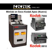 Kodak Apex 30, Minilab En Seco *nuevo