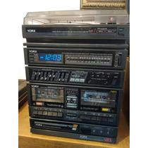 Tocadiscos Marca York Radio Fm Y Am Cassette