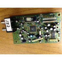 Tarjeta Pcb Para Dvd Samsung Ak92-01813c--dvd-p180 / Xax
