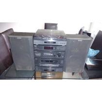 Modular Sony Mod Lbt-a17,2 Cassetteras,1 Cd,phono,tuner,cont