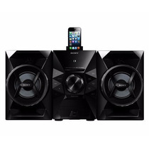 Minicomponente Hi Fi Sony Iphone 5 Ipod Dock Usb Mp3 120w