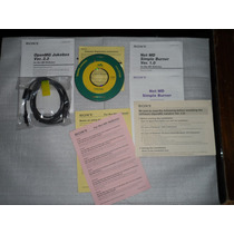 Software Open Mg Jukebox Versión 2.2 Con Cable Usb Minidisc