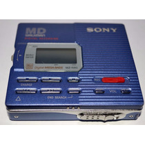 Sony Walkman Mz-r90 Minidisc Reproductor Digital Y Grabador