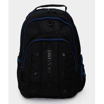 Wenger Back Pack Porta Laptop 16 Jett Negro Y Azul Mmu