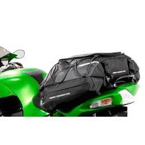 Yamaha Maleta Moto 50lt Cargo Bag Funda Impermeable Cinchos