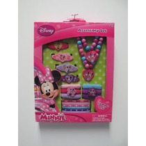 Minnie Mouse Box Set Con Accesorios Para El Cabello