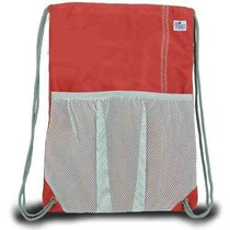Mochila Viajes Sailorsbag Exterior Loneta Con Asas True Red