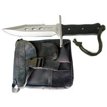 Envio Gratis Combo 2 Cuchillos D Acero +1 Piernera T Militar