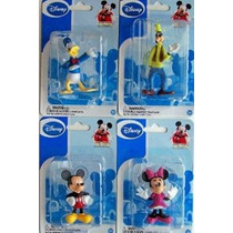 Mickey Mouse Clubhouse Figurines: Mickey Minnie, Donald Y Go