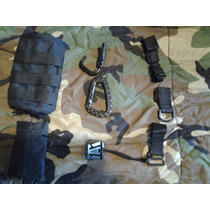 Kit Sitema Molle Pal Accesorios Molle Militar Tactico Nergo