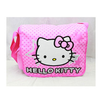 Messenger Bag Hello Kitty Big Head Pink Star 81402-4