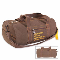 Brown Canvas Equipment Bag (entrega 3 - 4 Semanas)