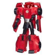 Transformers Robots In Disguise 3 Pasos Cambiadores Sideswip
